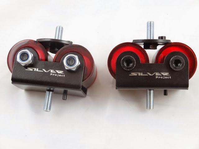 180SX Solid Engine Mounts for Nissan SR20 DET S13 200SX S14 S15